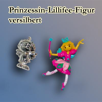 Prinzessin Lilifee Figur, versilbert