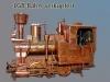 LGB Bahn Lokomotive, verkupfert