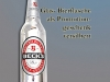 Promotiongeschenk: Bierflasche, versilbert