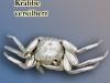 versilberte Krabbe
